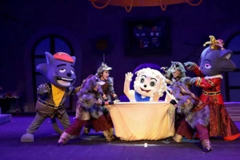 一起去最神奇的童话世界~儿童剧本周在2号门外广场华丽回归!