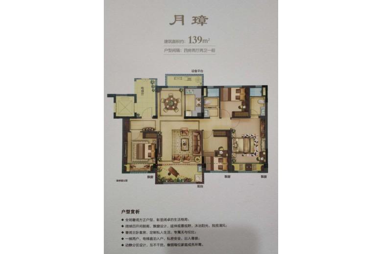 碧桂园·西江月户型图
