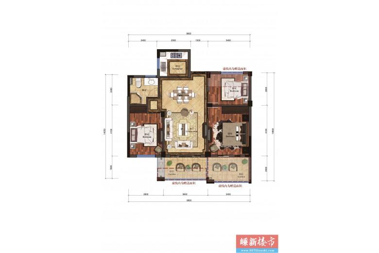新昌凤凰城户型图