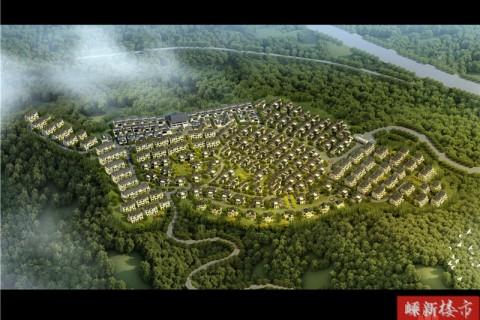 """国家对""""限墅令""""管控力度的逐渐加大,嵊州唯一的纯山地别墅项目,赶紧下手吧!"""