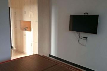单身公寓一室一厅一厨一卫出租!全新小区,干净整洁!