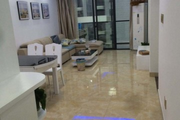 正大新世界2室2厅一厨一卫一阳台3500元/月,设备齐全