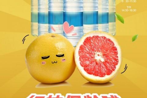 【天章华府】红柚保龄球 鲜美柚子抱回家