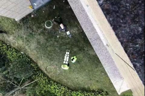 惨剧!城南某新小区一空调师傅高层作业时,突然不慎坠楼……